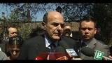 Governo, Bersani: esecutivo non c'è, meglio il voto