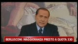 Berlusconi e Bersani sulla situazione politica italiana