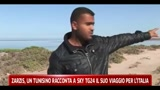 Zarzis, un tunisino racconta a SkyTG24 il suo viaggio per l'Italia