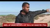Zarzis, un tunisino racconta a SkyTG24 il suo viaggio per l'Italia