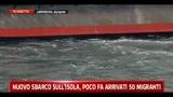 Lampedusa, ripresi i trasfimenti
