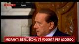 Tunisia, Berlusconi: c'è una grande volontà da entrambe le parti di trovare soluzioni