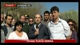 Pisa, proteste contro il trasferimento dei migranti in un ex ospedale