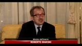 Roberto Maroni, raggiunto accordo con la Tunisia