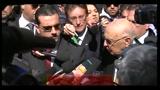 Sisma, Napolitano: l'Aquila non sarà dimenticata