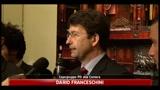 Dario Franceschini e Massimo Corsaro: processo breve e ostruzionismo