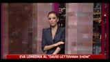 Eva Longoria al David Letterman Show