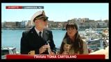Sull'isola 71 migranti dopo partenza nave Flaminia