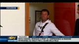 Cassano irrompe durante l'intervista: fuorionda con vaffa