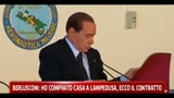 Berlusconi: ho comprato casa a Lampedusa, ecco il contratto