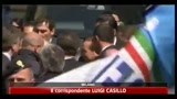 11/04/2011 - Udienza processo Mediaset, Berlusconi in aula