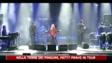 Nella terra dei pinguini, Patty Pravo in tour