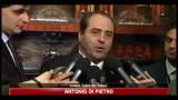 12/04/2011 - Di Pietro, migliaia di processi non arriveranno a destinazione