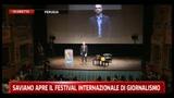 Saviano apre il Festival Internazionale del Giornalismo - Pt. 01