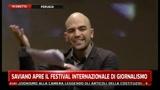 Saviano apre il Festival Internazionale del Giornalismo - Pt. 02