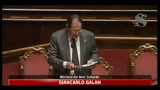 Giancarlo Galan, Ministro dei beni Culurali