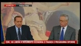 Berlusconi sulla crisi immigrazione