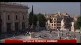 Roma, busta con proiettile e minacce al sindaco Alemanno
