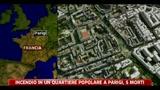 Incendio in quartiere popolare a Parigi, 5 morti