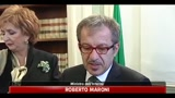 14/04/2011 - Immigrazione, Maroni, fase acuta emergenza  finita