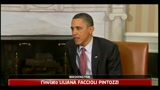 Libia, Obama Sarkozy e Cameron: Gheddafi deve andare via