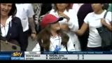 15/04/2011 - I tifosi del Barça si preparano alla sfida col Real