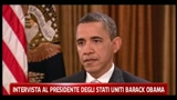 Intervista al Presidente degli Stati Uniti Barack Obama