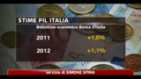 Banca d' Italia, ripresa economica stentata nel nostro paese