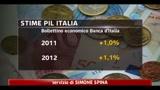 Banca d' Italia, ripresa economica stentata nel nostro paese