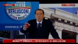 Berlusconi canta Nustalgia de Milan
