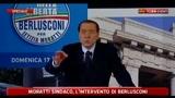 17/04/2011 - Berlusconi canta Nustalgia de Milan