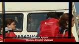 18/04/2011 - Lampedusa, partiti dall'isola sedici minori, andranno a Bari