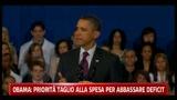 Obama priorità taglio alla spesa per abbassare deficit