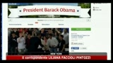 21/04/2011 - Palo Alto, Obama ospite di Facebook
