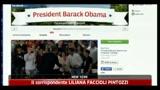 21/04/2011 - Palo Alto, Obama ospite di Facebook