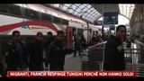 22/04/2011 - Migranti, Francia respinge i tunisini perch non hanno soldi