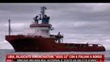 Libia, rilasciato rimorchiatore Asso 22 con 8 italiani a bordo
