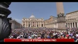 24/04/2011 - Pasqua, Papa: accogliamo profughi africani