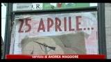 25 aprile, a Roma manifesti nostalgici del fascismo