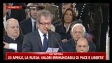 25/04/2011 - 25 Aprile, discorso di Roberto Maroni