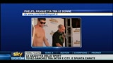 26/04/2011 - Nuoto: Phelps, una Pasquetta tra le donne