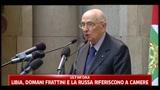 26/04/2011 - Raid italiani su Libia, Napolitano dà il via libera