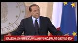 26/04/2011 - Bersani, per cacciare nucleare bisogna cacciare Berlusconi
