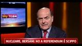 27/04/2011 - Bersani, senza confronto tv siamo lontani dalle altre democrazie