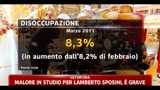 Istat, aumentano disoccupazione ed inflazione