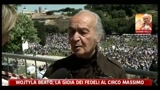 01/05/2011 - Wojtyla Beato, la gioia dei fedeli al Circo Massimo