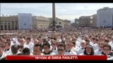 01/05/2011 - Wojtyla Beato, in prima fila Napolitano, Berlusconi e Fini