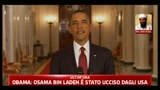 Obama: Osama Bin Laden  stato ucciso dagli USA