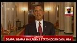 Obama: Osama Bin Laden è stato ucciso dagli USA