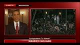 Ucciso Bin Laden, folla in festa davanti alla Casa Bianca
